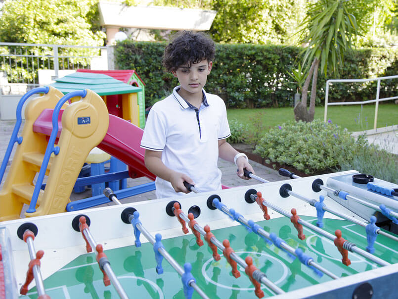 Foosball Table hotel crystal pietrasanta