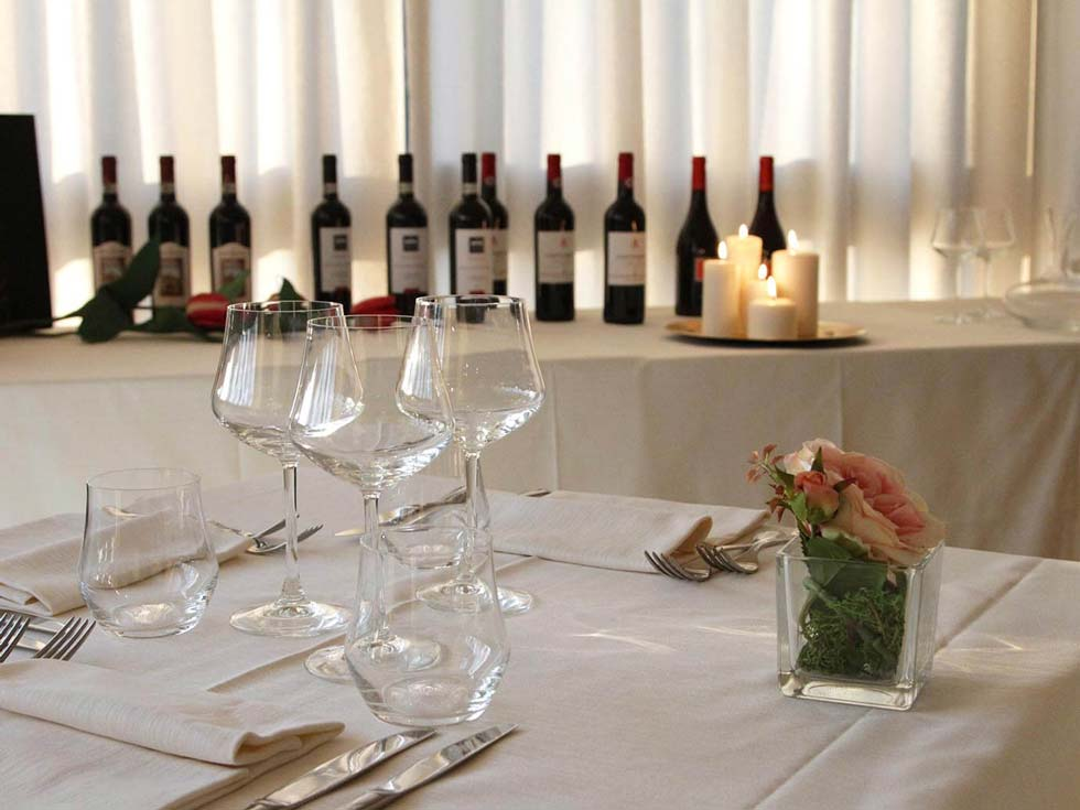 The dining room hotel crystal pietrasanta